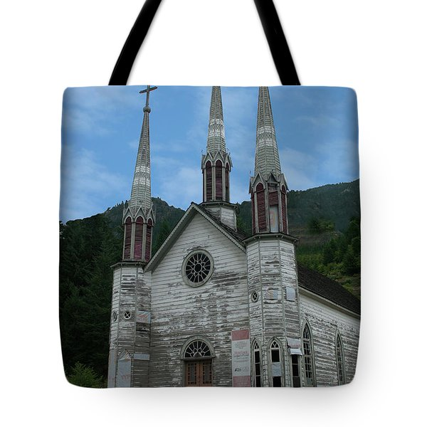 Tote Bag featuring the photograph Church Of The Holy Cross by Rod Wiens