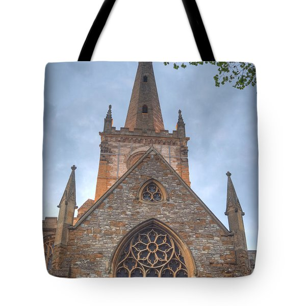 Church Of The Holy Trinity Stratford Upon Avon 1 Tote Bag by Douglas Barnett