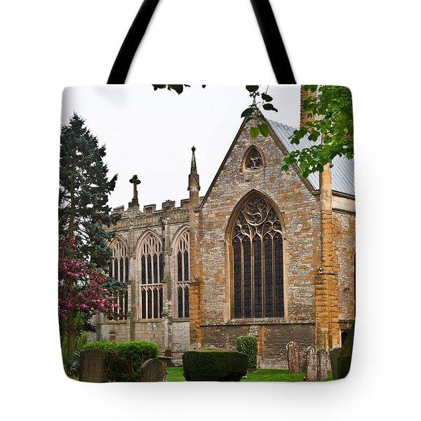 Church Of The Holy Trinity Stratford Upon Avon 3 Tote Bag by Douglas Barnett