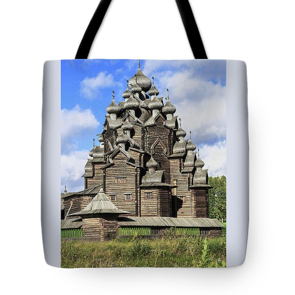 Church Of The Intercession Of The Blessed Virgin Mary, A Unique Monument Of Church Architecture Of A Tote Bag