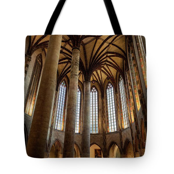 Tote Bag featuring the photograph Church Of The Jacobins Interior by Elena Elisseeva