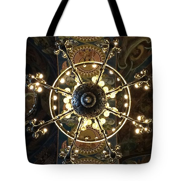 Church Of The Saviour On The Blood Tote Bag