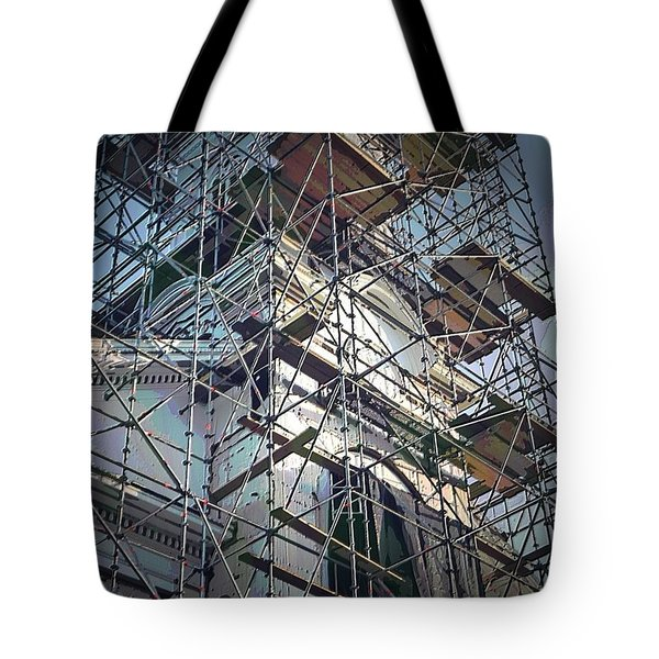 Church Of The Wounded Hunter Rehab Tote Bag