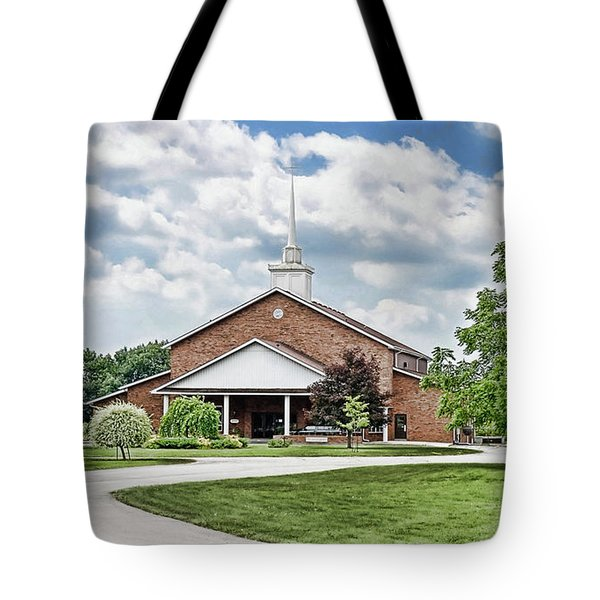 Church On Coldwater Tote Bag