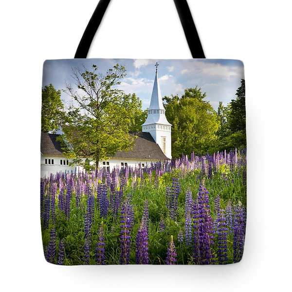 Church On Sugar Hill Tote Bag