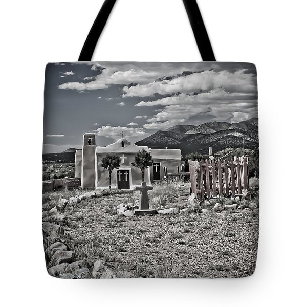 Church On The Hill Tote Bag