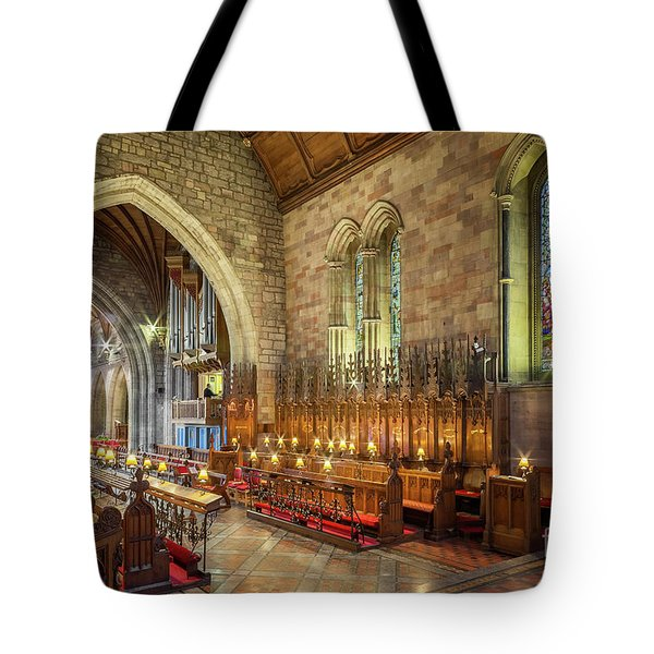 Tote Bag featuring the photograph Church Organist by Adrian Evans