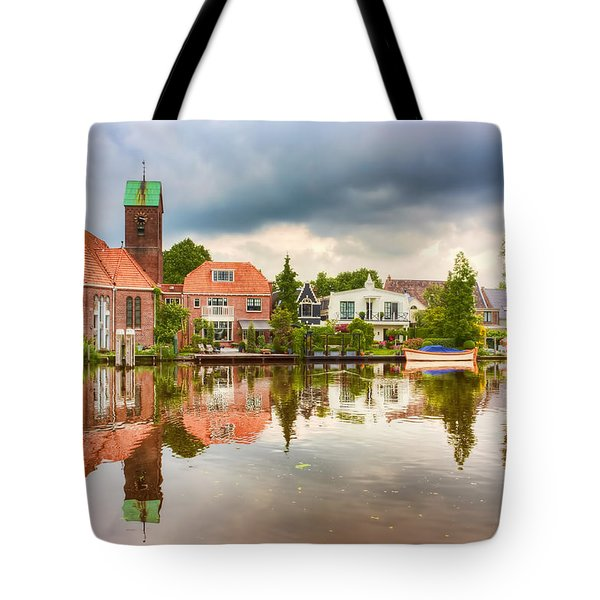 Church Reflections Tote Bag