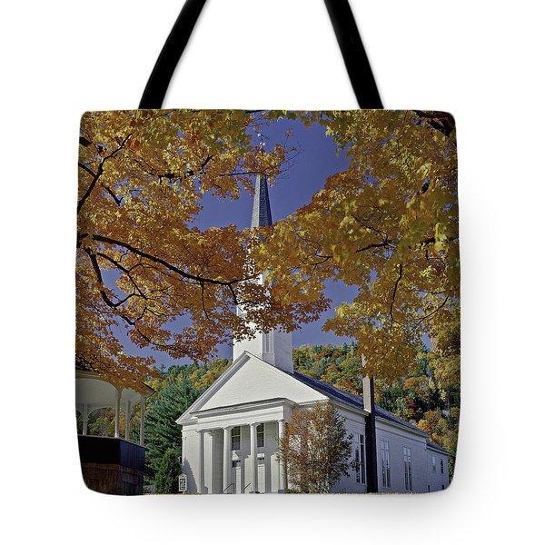 Church, Sharon Vermont Tote Bag