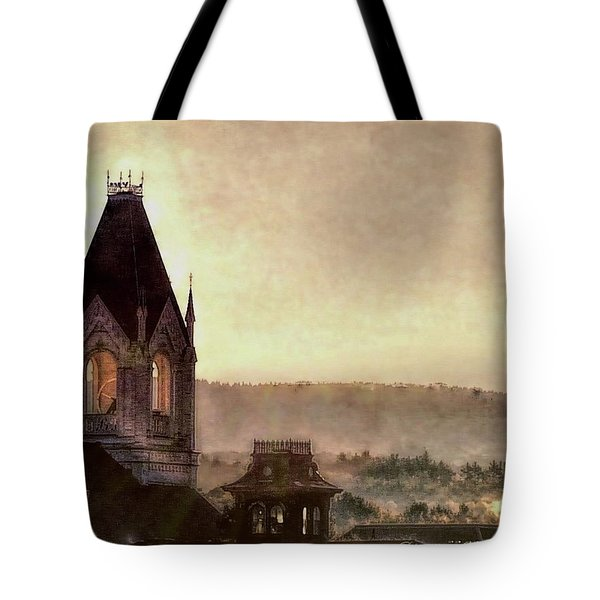 Church Steeple 4 For Cup Tote Bag