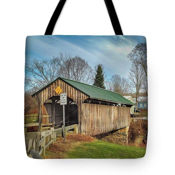 Church Street Bridge Tote Bag
