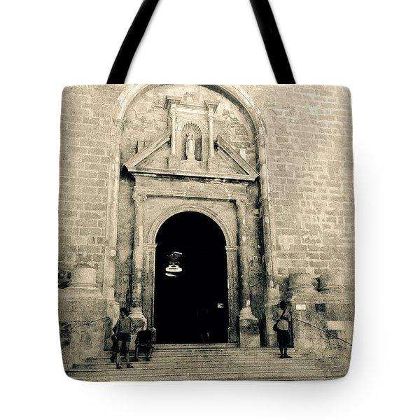 Churchdoor In Mahon Tote Bag