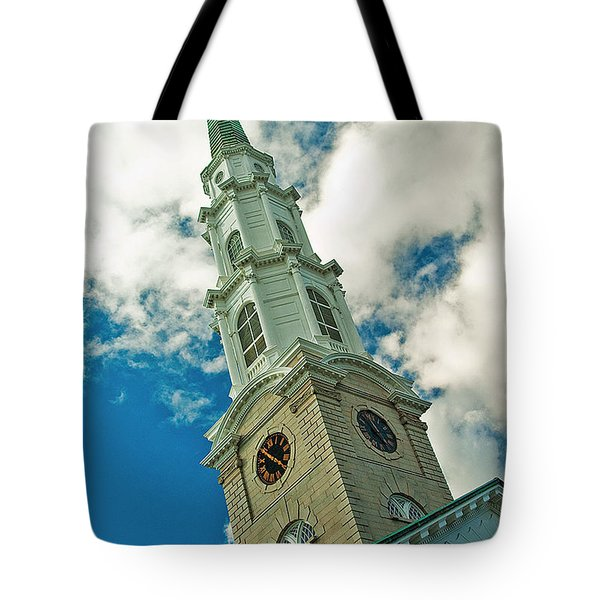 Churche Steeple Tote Bag