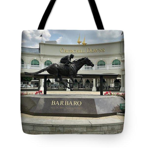 Churchill Downs Barbaro 2 Tote Bag