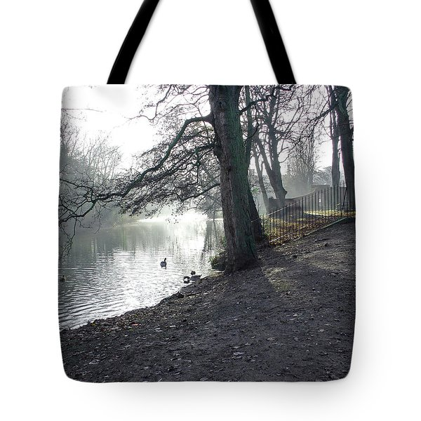 Churchyard Trees Tote Bag by Rod Johnson