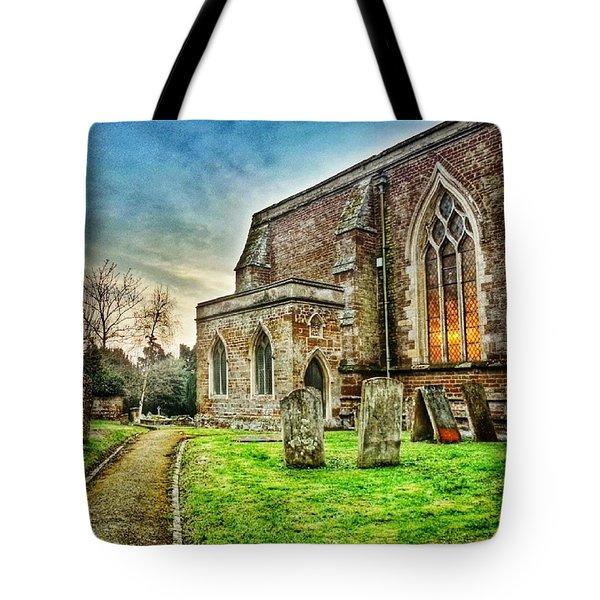 Churchyard Tote Bag