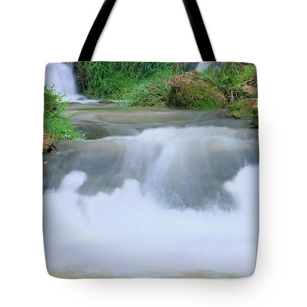 Churning Tote Bag by Kristin Elmquist