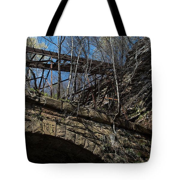 Chute And Tunnel Tote Bag