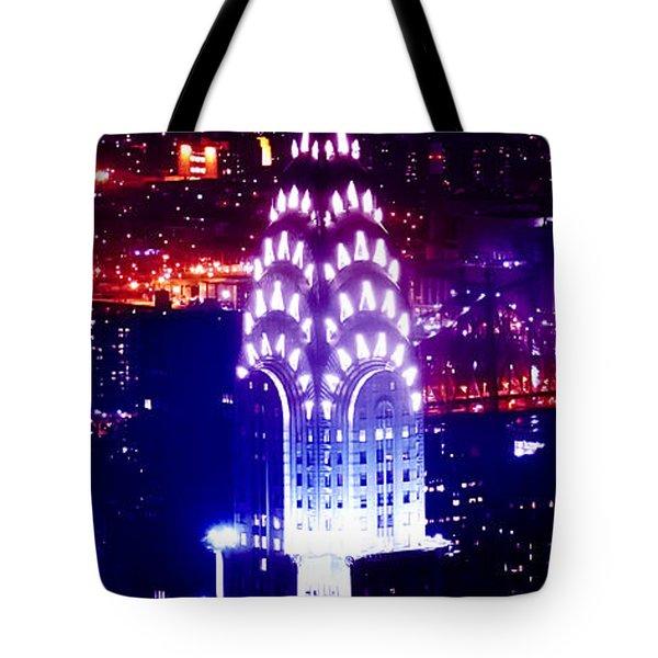 Chyrsler Lights Tote Bag