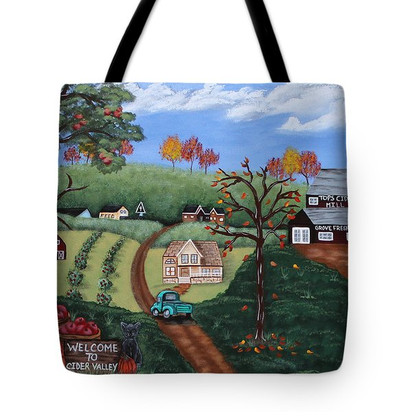Cider Valley Tote Bag