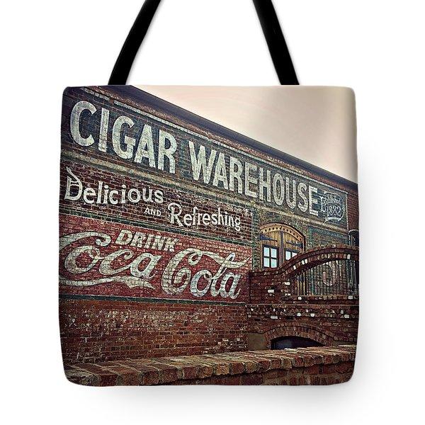 Cigar Warehouse Greenville Sc Tote Bag
