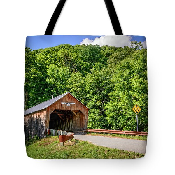 Cilley Bridge Tote Bag