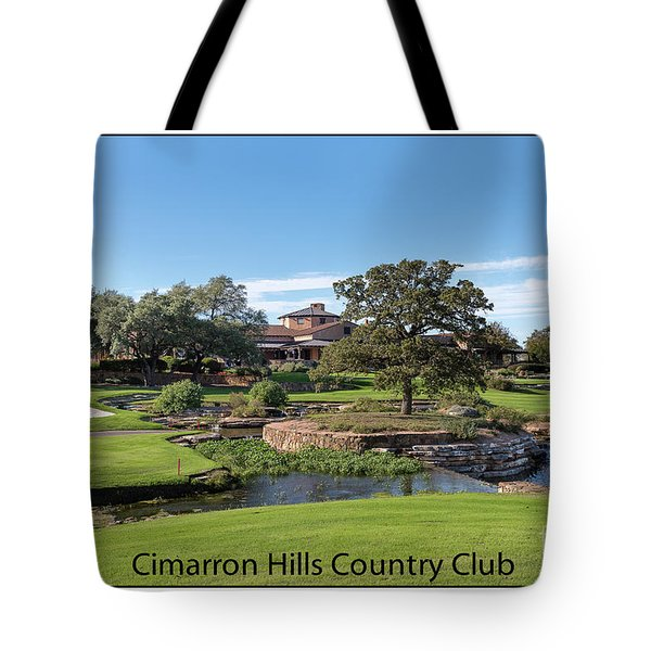 Cimarron Hills Tote Bag