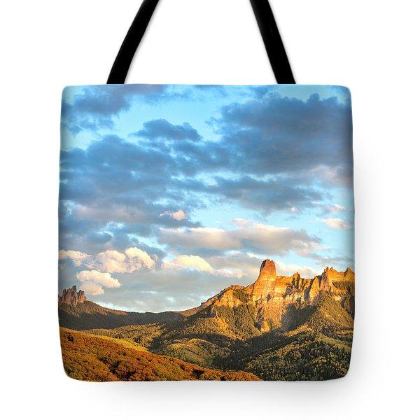 Cimarron Sunset In Autumn Tote Bag