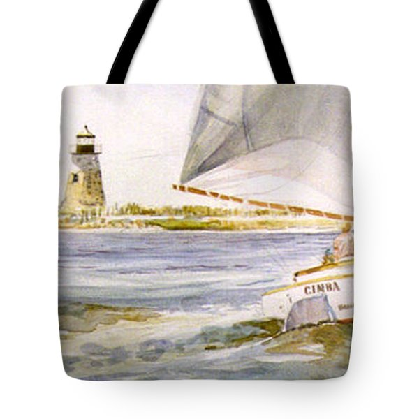 Cimba At Bird Island Light Tote Bag