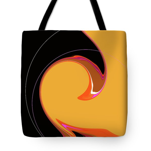 Tote Bag featuring the digital art Summer Chic 1960 by Gina Harrison