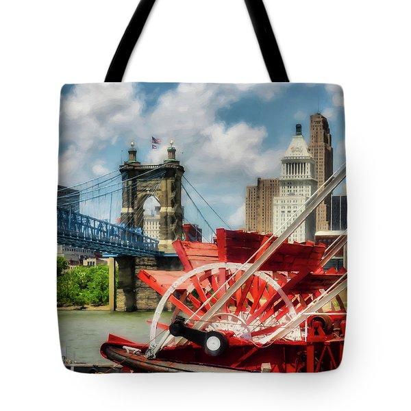 Cincinnati Landmarks 1 Tote Bag