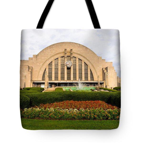 Cincinnati Museum Center At Union Terminal Tote Bag by Paul Velgos