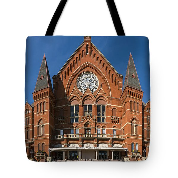 Tote Bag featuring the photograph Cincinnati Music Hall by Rob Amend