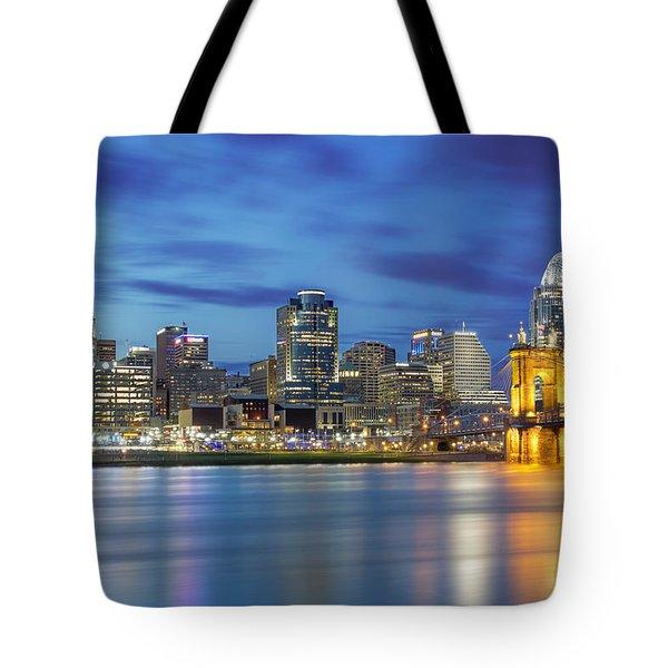 Cincinnati, Ohio Tote Bag