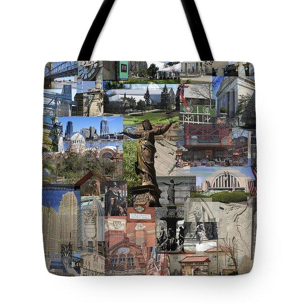 Cincinnati's Favorite Landmarks Tote Bag