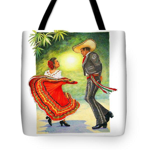 Cinco De Mayo Dancers Tote Bag