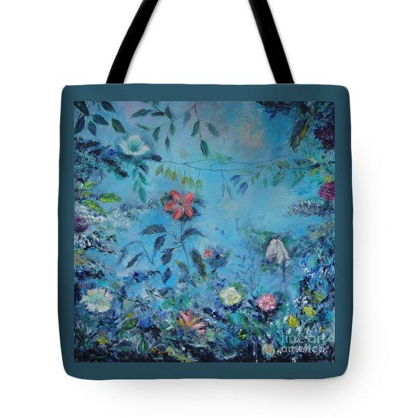 Cinderellas Garden Tote Bag