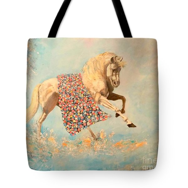 Cinderellas Unicorn Tote Bag