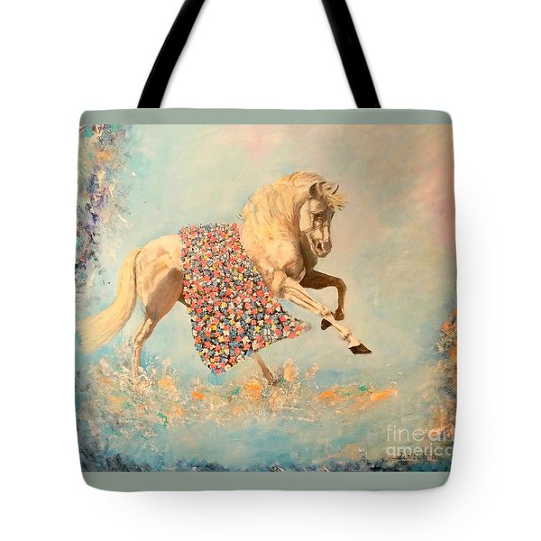 Cinderellas Unicorn Tote Bag