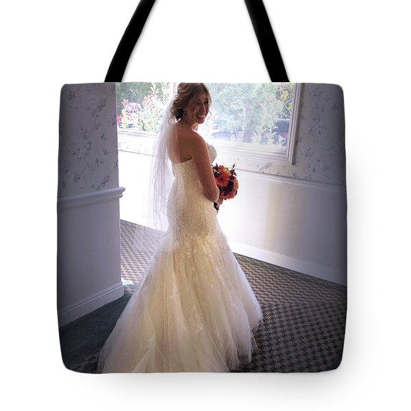 Cindy Sue Gets Married Tote Bag