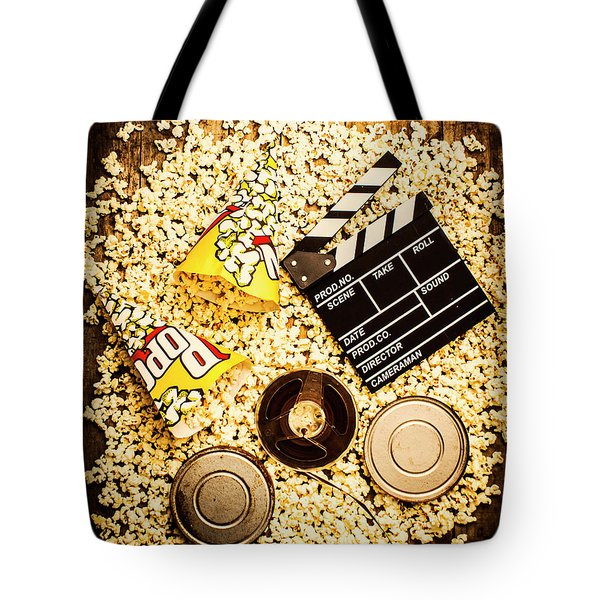 Cinema Of Entertainment Tote Bag