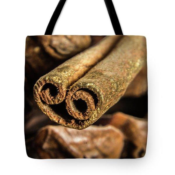 Cinnamon Heart Tote Bag