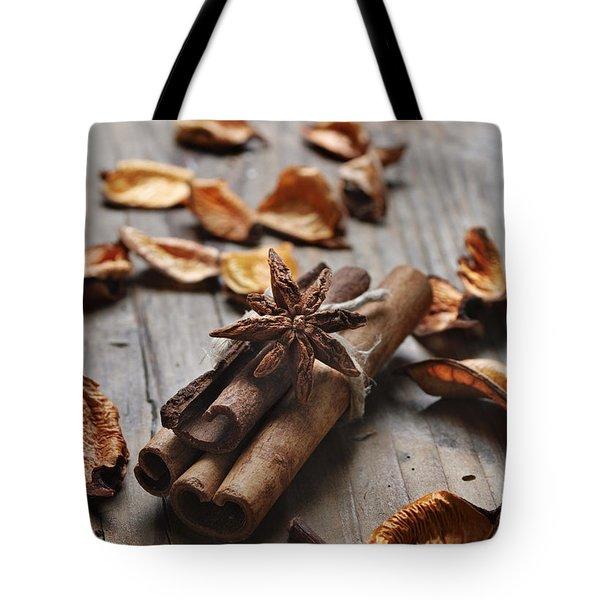 Cinnamon Tote Bag