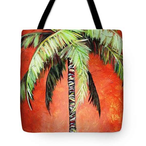 Cinnamon Palm Tote Bag