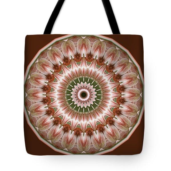 Cinnamon Roses And Thorns Tote Bag