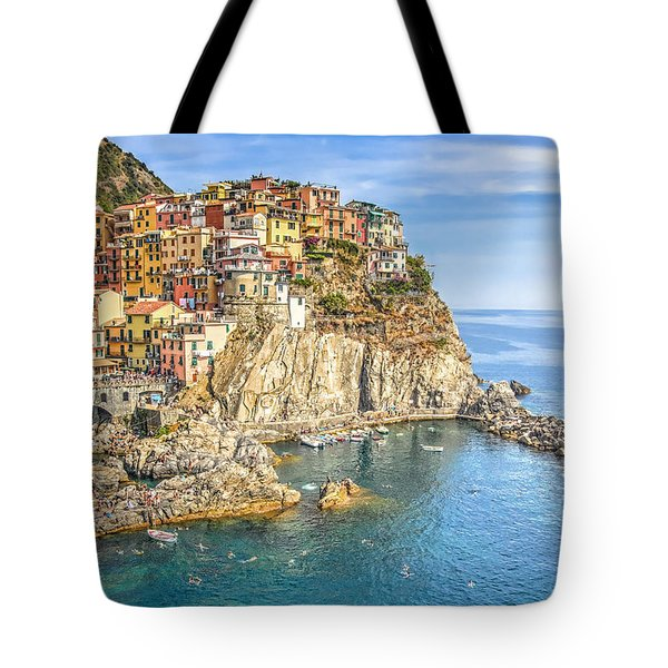 Tote Bag featuring the photograph Cinque Terre by Brent Durken