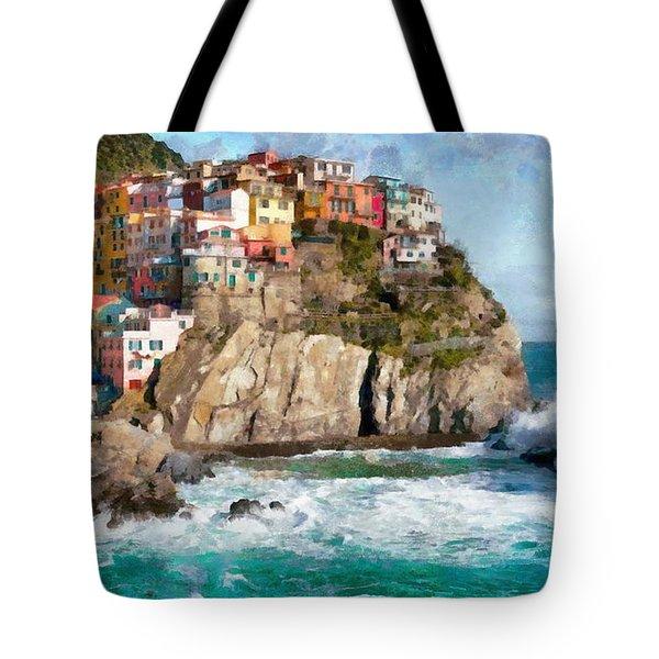 Cinque Terre - Italy Tote Bag