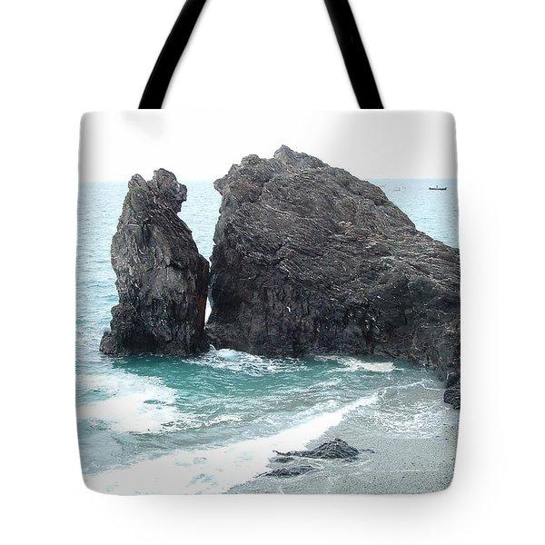 Cinque Terre Ocean View Tote Bag