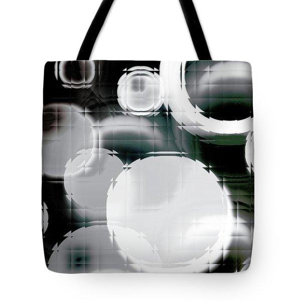 Circle Blocks Tote Bag