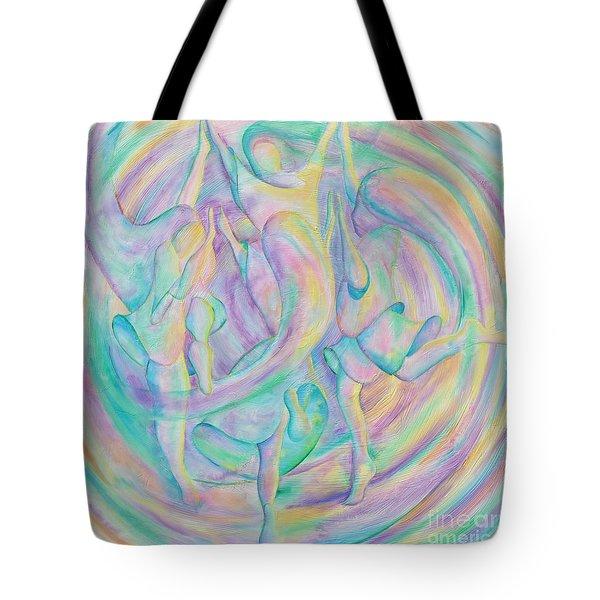 Circle Dance Tote Bag